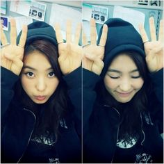 SISTAR's Bora puts on aegyo to support K.Will and Dasom