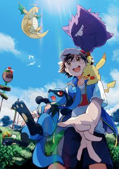 Fan Art Pokemon, Pokemon Show, Ash Pokemon, Pokemon People, Pokemon Comics, Cool Pokemon, Pikachu, Pokemon Stuff, Cute Pokemon Pictures