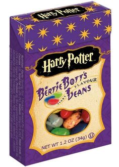 Bertie Botts Every Flavour Beans candy from Harry Potter.