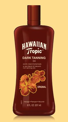 Dark Tanning Oil by Hawaiian Tropic® gives you luscious-feeling skin with that classic coconut fragrance. Explore all our tanning products today. Hawaiian Tropic Tanning Oil, Outdoor Tanning, Sun Tan Oil, Tanning Tips, Tanning Products, Tanning Secrets, Tanning Bed, Beach Tan, Suntan Lotion