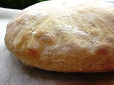 Ciabatta (Italian Slipper Bread).