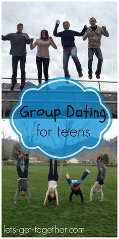 Group Dating for Teens-four great ideas for group dating. Inexpensive and fun! Includes a photo scavenger hunt, extreme spoons, around the world ping pong and pudding pictionary! Also great ideas for a day date for dances. www.lets-get-together.com #dating #highschooldance