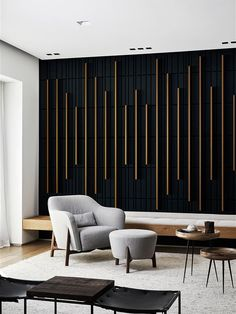 Home Room Design, Home Interior Design, Living Room Designs, Bedroom Wall Designs, Accent Walls In Living Room, Living Room Decor, Accent Wall Designs, Interior Walls, House Rooms