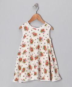 Take a look at this Fresh Flower Swing Dress - Infant, Toddler & Girls by De n' L on #zulily today!