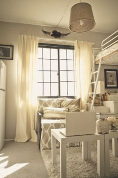 12 Tiny-Ass Apartment Design Ideas to Steal | Messy Nessy Chic Messy Nessy Chic