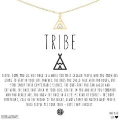 Love your tribe fiercely. Tag your tribe below and sign up on our website to be notified as soon as this necklace is available