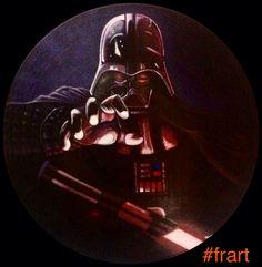 Darth vader 2016 #viniliaerografati #frart