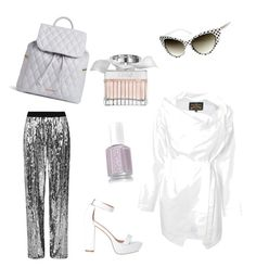 A fashion look from February 2016 featuring tie blouse, wide leg palazzo pants and ankle strap shoes. Browse and shop related looks. Fashion Women, Women's Fashion, Wide Leg Palazzo Pants, Vivienne Westwood Anglomania, Ankle Strap Shoes, Tie Blouse, Vera Bradley, Polyvore Fashion, Women's Clothing