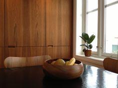 60s walnut kitchen - Google Search