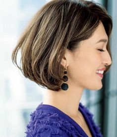 Shirt Bob Hairstyles, Short Hairstyles For Women, Pretty Hairstyles, Medium Hair Styles, Short Hair Styles, Hair Reference, Jolie Photo, Coffee Break, Hair Dos