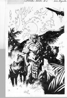 Comic Book Artists, Comic Artist, Superman Comic, Batman, Mike Mignola Art, Alternative Comics, Cool Artwork, Concept Art, Art Gallery