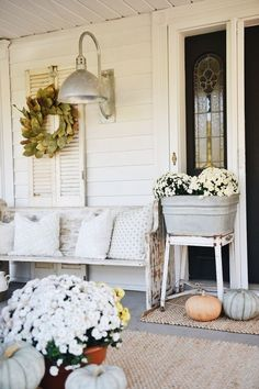 I feel like this is an annual thing now. Me piling pumpkins & mums on our front steps & taking a million photos at sunrise of it. I mean, it's the second fall we've been in this 1800's farmhouse of ours so it can be called a tradition now right? I say yes. This is …