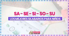 Silabario En Espanol Para … images, similar and related articles aggregated throughout the Internet. Kids Learning, Alphabet, Blog, Fun, Places, Literacy Activities, Reading Projects, Class Projects, Reading Workshop
