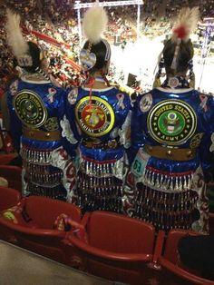 Native American Women Warriors-Army & Navy represented here.
