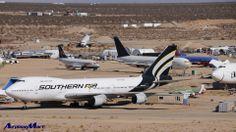 Mojave Airport Aircraft Graveyard - Nov. 2012