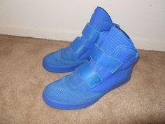 Nike Flystepper 2K3 PRM (677473-400) Cobalt Blue Athletic Shoes Men Sz 11.5…