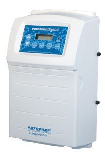 Pool Pilot Digital - The most reliable and user friendly chlorine generator unit available.  With microprocessor controls, digital read-out of pool water temperature, current salt level, purifier production level, soft reverse cell cleaning cycle and boost cycle, the Pool Pilot Digital is a technologically advanced unit. The easy-to-read digital readout on this in-line unit even tells you how much salt to add should it run low. The Pool Pilot Digital has a patented temperature compensation…