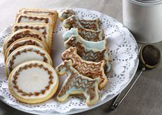 decorated cookies | ... decorated sugar cookies. This was an interesting challenge for me