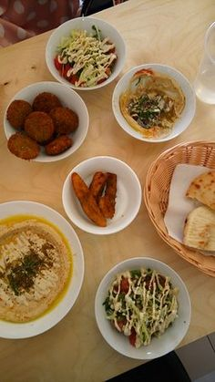 Paprika Mediterranean bistro & bar, Israeli food