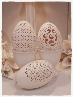 Beautiful Diecut Easter eggs! - Coups de cœur | Tumblr