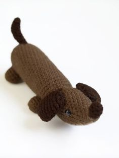 Amigurumi Wiener Dog Pattern (Crochet)