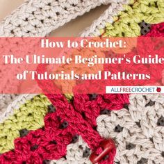 Learn how to crochet with this collection of videos for visual learners. View step-by-step crochet instructions, tutorials and more!