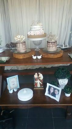 Noivado Raphaela e Diego! Feito pela noiva! 2016