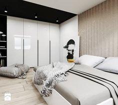 Mieszkanie w Sosnowcu - Sypialnia, styl nowoczesny - zdjęcie od FOORMA Pracownia Architektury Wnętrz