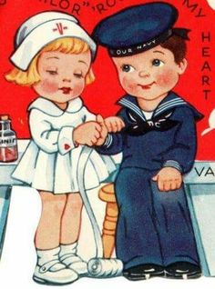 Valentines reminds me of my sister and her husband.