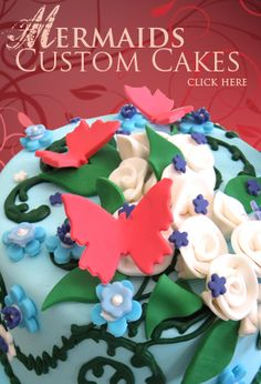 Denver Co Mermaids Bakery My Obsession with Cakes Pinterest