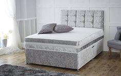 Cream,Silver,Black Crushed Velvet Divan Bed with Orthopae... https://www.amazon.co.uk/dp/B01HE74CSC/ref=cm_sw_r_pi_dp_x_kwlKybKTPN0KA