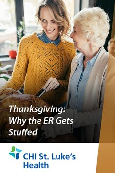 Thanksgiving is meant to be spent with friends and family at home, not in the ER! We're dishing out common reasons for Thanksgiving ER trips and ways you can prevent them. Relaxing Holidays, Emergency Care, Trips, Men Sweater, Thanksgiving, Friends, Health, People, Viajes