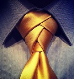 How to tie a tie   Eldredge necktie knot