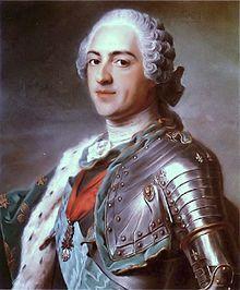 Louis XV  1710-1774 roi de France