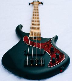 Check out the black matte finish on this new Warrior Messenger 4-string bass with a single humbucker pick up.