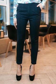 be0750e3b81e4 Полушерстяные брюки DONIS классического кроя со стрелками Garne 3033006,  купить по цене 399 грн.