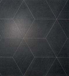 Indoor tile / floor / porcelain stoneware / 3-D SLIMTECH MAUK : CUADRA LEA CERAMICHE