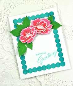 Handmade Cards By Helen: PTI - Create Along With Us