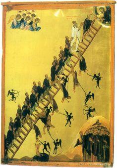 Лествица Иоанна Лествичника. XII век.