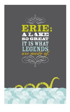 Love this! If you love Lake Erie you'll probably love this too. :)