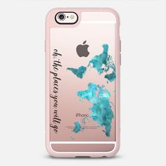 Oh the places you will go transparent - New Standard Case