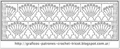 PATRONES=GANCHILLO = CROCHET = GRAFICOS =TRICOT = DOS AGUJAS: POINTS crocheting with their employers