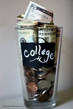 Four kids in college at the same time and trying to have no debt? How we are saving and paying cash for college. We're thinking outside the box and it's never too early to start! saving for college, ways to save for college College Fund, College Planning, Saving For College, Scholarships For College, College Hacks, College Savings, College Graduation, Meal Planning, Financial Peace
