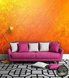 Wall Mural Orange
