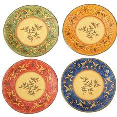Tusan Home plates.. I like the rust and yellow.