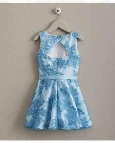zoe keyhole-Back lace girls dress | Chasing Fireflies