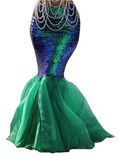 Damen Mermaid Halloween Kostüm ausgefallene Party Paillet... https://www.amazon.de/dp/B01M7QS2JC/ref=cm_sw_r_pi_dp_x_MEWVyb6JRHNC4