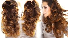 2 Ways to Lazy Heatless Curls using a Bun | Overnight Waves :http://www.makeupwearables.com/2015/01/heatless-curls.html