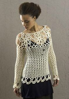 Lacy tops are perfect fair weather wearing garments. You can pair them up with a cami or long sleeve shirt underneath as lacy tops often feature open stitches giving them the lacy look. There are a variety of lacy tops from tunics and sweaters to shrugs and ponchos.   1. Lace Essence Top by [...]