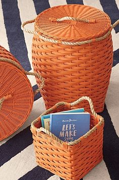 Rope Bin Collection Baskets
